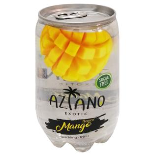 Газированный напиток Aziano со вкусом манго 350 мл.