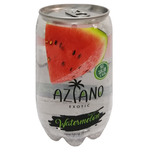 Газированный напиток Aziano со вкусом арбуза 350 мл.