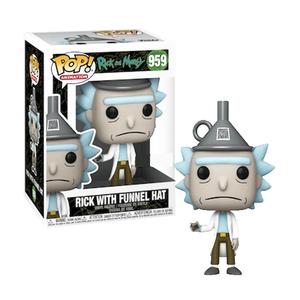 Фигурка Funko POP Рик с воронкой на голове: Рик и Морти (Rick with funnel hat: Rick and Morty 959) Original