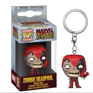 Брелок Funko POP Зомби Дэдпул: Марвел (Zombie Deadpool: Marvel) Original