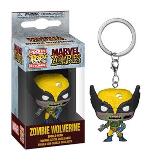 Брелок Funko POP Зомби Росомаха: Марвел (Zombie Wolverine: Marvel) Original