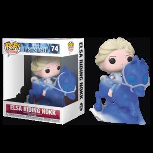 Фигурка Funko POP Эльза на Нокке: Холодное Сердце 2 (Elsa riding the Nokk: Frozen 2 74) Original