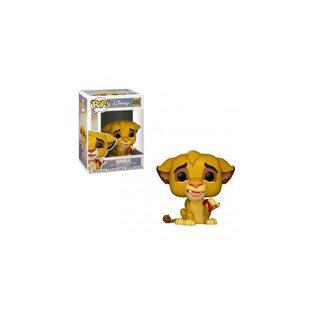 Фигурка Funko POP Симба с гусеницей: Король Лев (Simba: The Lion King 496) Original
