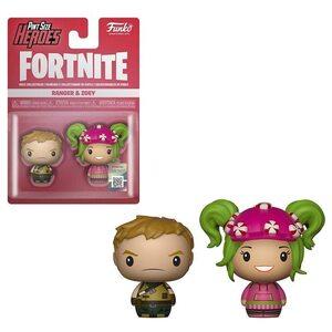 Набор  фигурок Funko Pint Size Heroes Рейнджер и Зоои: Фортнайт (Ranger & Zoey: Fortnite) Original