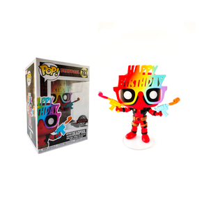 Фигурка Funko POP Дэдпул в очках (Daedpool Birthday glasses 783) Original