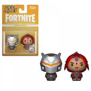Набор фигурок Funko Pint Size Heroes Омега и Доблесть: Фортнайт (Omega & Valor: Fortnite) Original