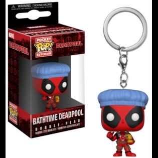 Брелок Funko POP Дэдпул: Марвел (Bathtime Deadpool: Marvel) Original