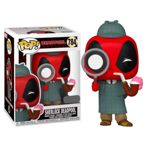 Фигурка Funko POP Дэдпул Шерлок (Deadpool Sherlock 784) Original