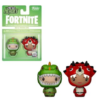 Набор фигурок Funko Pint Size Heroes Рекс и Трицера: Фортнайт (Rex & Tricera: Fortnite) Original