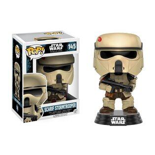 Фигурка Funko POP Штурмовик береговой обороны: Звездные войны: Изгой (Scarif Stormtroopers: Star Wars: Rogue One 145)