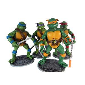 Фигурка из набора Черепашки Ниндзя (Turtles 20 см.) набор 4 шт.