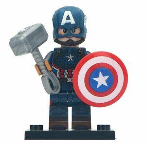 Фигурка Lepin Капитан Америка с молотом (Captain America)