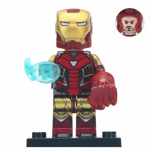 Фигурка Lepin Железный Человек с перчаткой бесконечности (Iron Man)