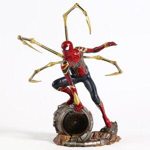 Фигурка Человек Паук на турбине: Война Бесконечности (Spider man: Infinity War) 23 см. уценка