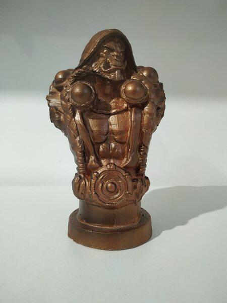 купить Бюст Орка (бронза) 17 см., в Ростове с доставкой