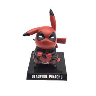 Фигурка Пикачу Дэдпул (Deadpool Pikachu 10 см.)
