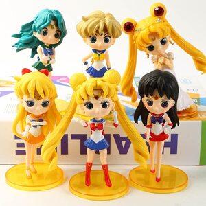 Фигурка из набора Сейлор Мун (Sailor Moon 11 см.) Набор 6 шт.
