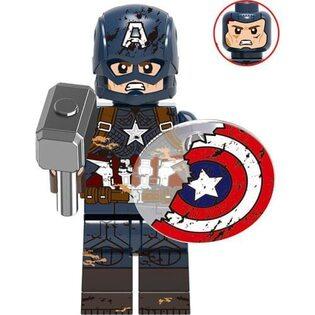 Фигурка Lepin Капитан Америка с разбитым щитом (Captain America with a broken shield : Marvel)