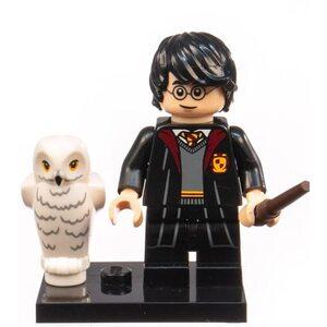 Фигурка Lepin Гарри Поттер с совой в форме (Harry Potter with an owl in uniform)