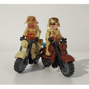 Фигурка Lepin Солдаты Call Of Duty на мотоцикле (набор 6 шт.)