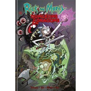 Графический роман Рик и Морти против Dungeons & Dragons
