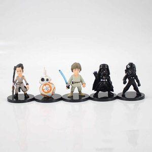 Фигурка из набора Звездные Войны (Star Wars 7 см.) Набор 5 шт.