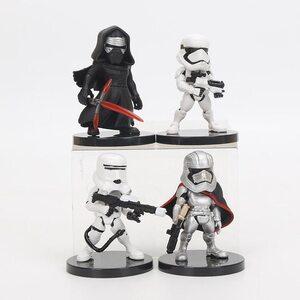 Фигурка из набора Звездные Войны №1 (Star Wars 7 см.) Набор 4 шт.