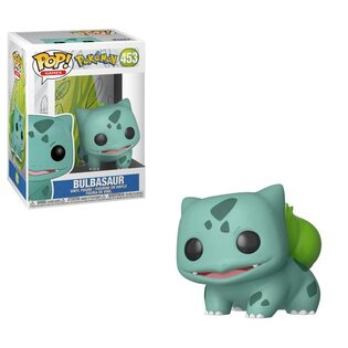 Фигурка Funko POP Бульбазавр: Покемоны (Bulbasaur: Pokemon 453)