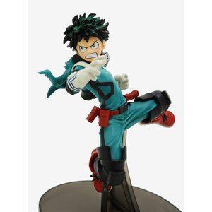 Фигурка Изуки Мидория в прыжке: Моя геройская академия (Midoriya Izuku: My Hero Academia) 17 см.