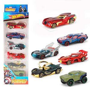 Машинка из набора Супергерои (Набор 6 шт.)