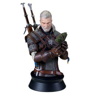 Бюст Геральта: Ведьмак (Geralt:Playing Gwent) Dark Horse 22 см.