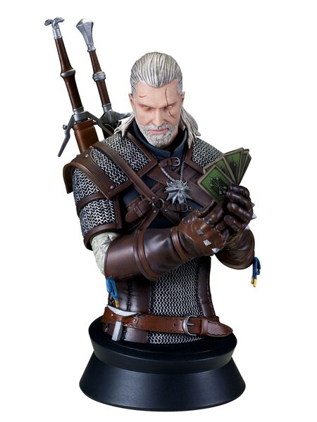 купить Бюст Геральта: Ведьмак (Geralt:Playing Gwent) Dark Horse 22 см., в Ростове с доставкой