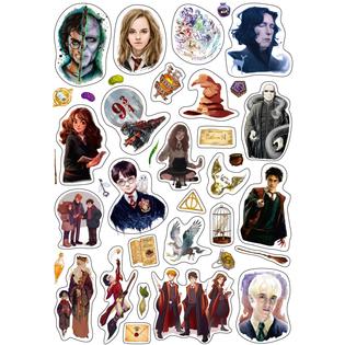 Стикерпак 088 Гарри Поттер 2.Формат А4
