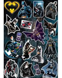 Стикерпак 049 Бэтмен 2.Формат А4