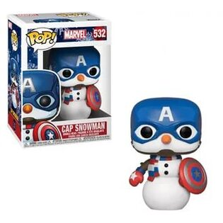 Фигурка Funko POP Капитан Снеговик: Марвел (Cap Snowman: Marvel 532) Original