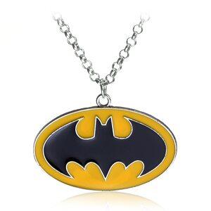 Кулон Бэтмен желтый