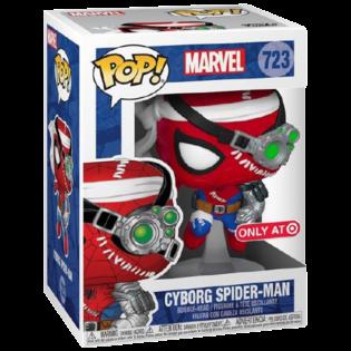 Фигурка  Funko POP Киборг Человек-Паук (Cyborg Spider-Man 723) Original