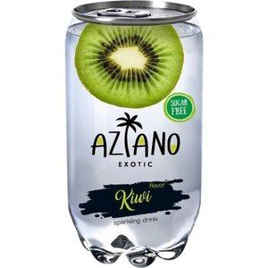 Газированный напиток Aziano со вкусом киви 350 мл.
