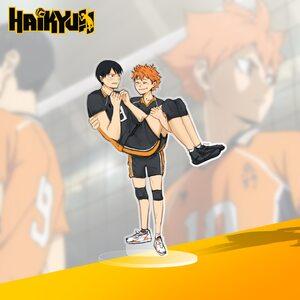 Акриловая фигурка HandMade Шое Хината и Тобио Кагеяма 15 см : Волейбол (Shoke Hinata and Kageyama Tobio:Volleyball)