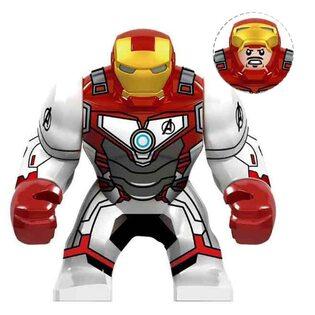 Фигурка Lepin Железный Человек: Война бесконечности Финал (Iron Man: Infinity War Final) 10 см.