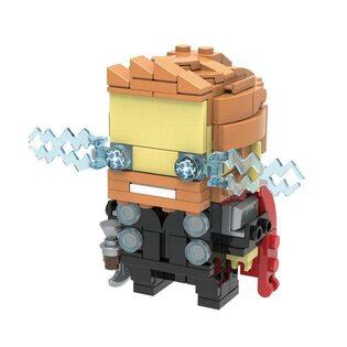 Фигурка Lepin Тор (Thor) Brickheadz 7 см.