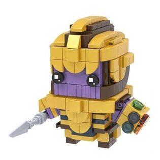 Фигурка Lepin Танос (Thanos) Brickheadz 7 см.