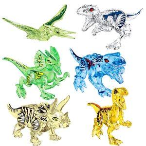 Фигурка Lepin Динозавр прозрачный в ассортименте (набор 6 шт.)