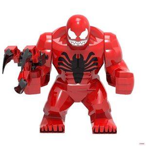 Фигурка Lepin Карнаж: Человек Паук (Carnage: Spider Man) 10 см.