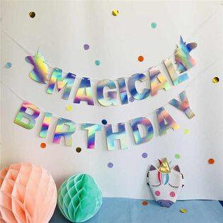 Гирлянда для праздника Magical Birthday (Happy party)