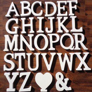 Декоративная Буква деревянная