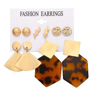 Набор Сережек Fashion Earrings №1 (5 шт.)