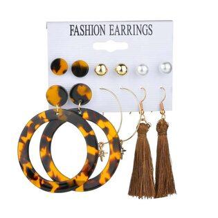 Набор Сережек Fashion Earrings №2 (6 шт.)