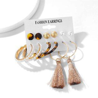 Набор Сережек Fashion Earrings №3 (6 шт.)