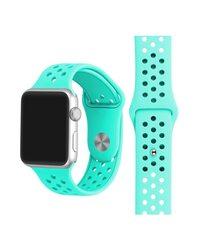 Ремешок Apple Watch с отверстиями мятный (38/40 мм.)